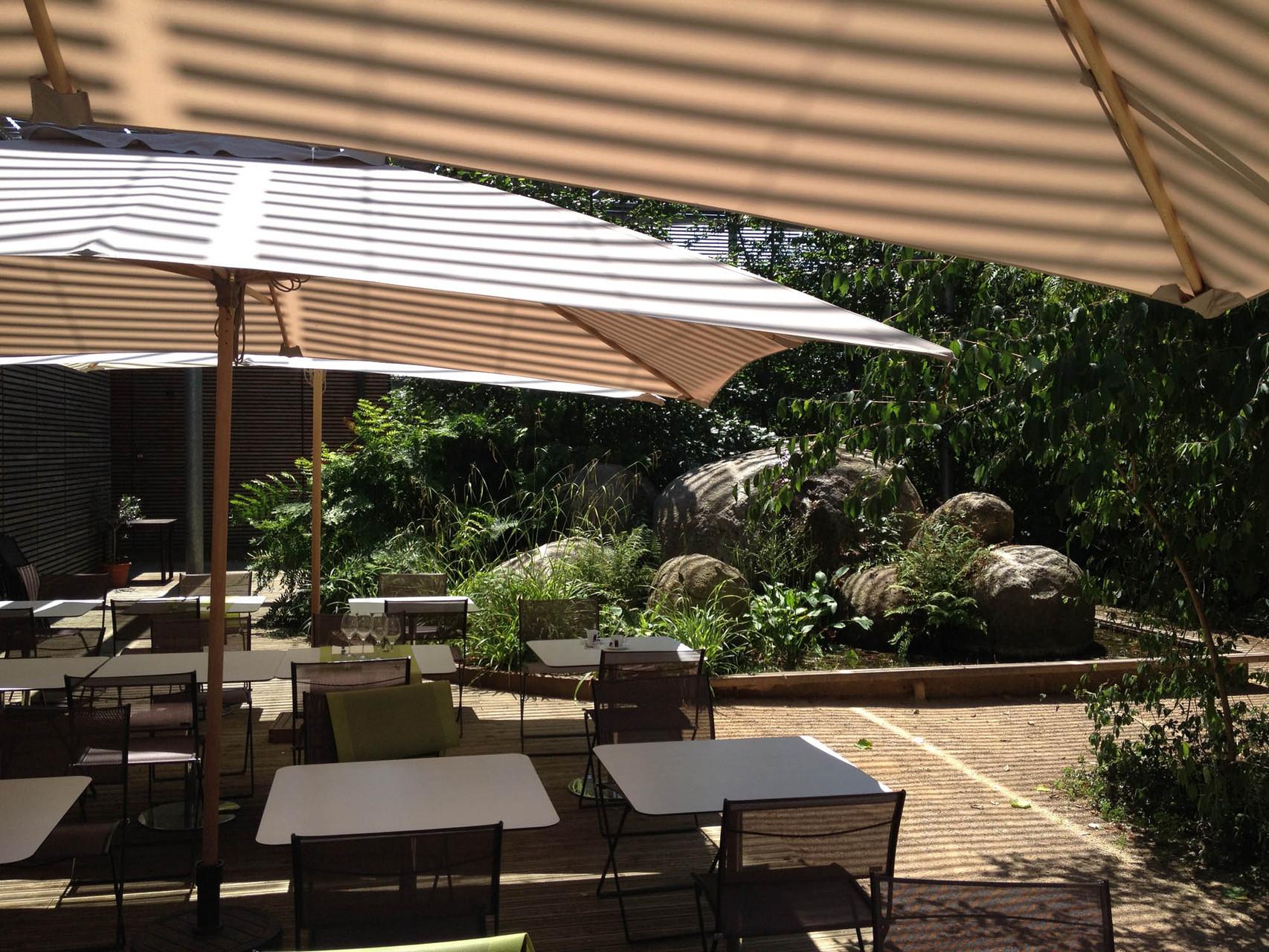 La noria restaurant au coeur des jardins du museum de toulouse - Terrasse jardin resto paris toulouse ...